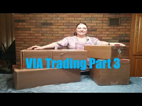 VIA Trading Liquidation Unboxing Video - Part 3 Makeup - L'Oreal cosmetics Box $447.00