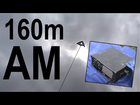 Cheap kites and wire antennas - Part 3 160 metres AM
