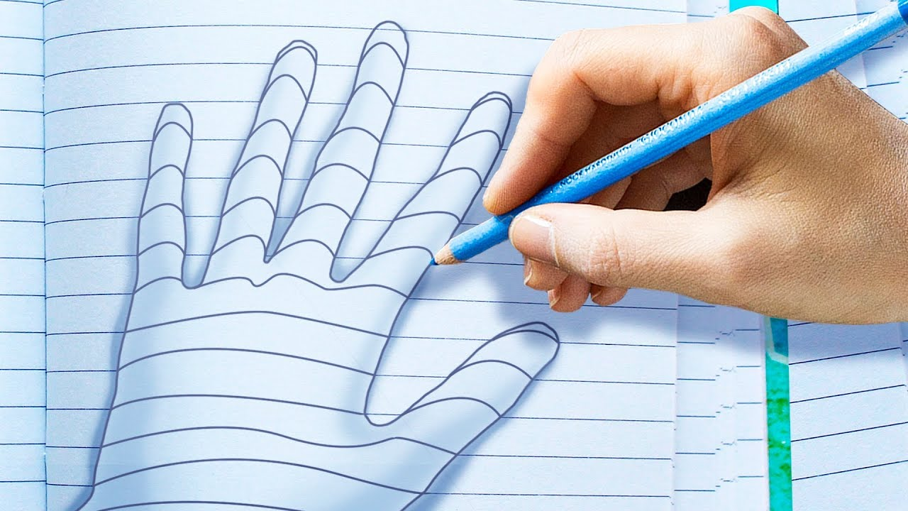 18 WONDERFUL DRAWING TRICKS THAT WILL MAKE YOU A PRO