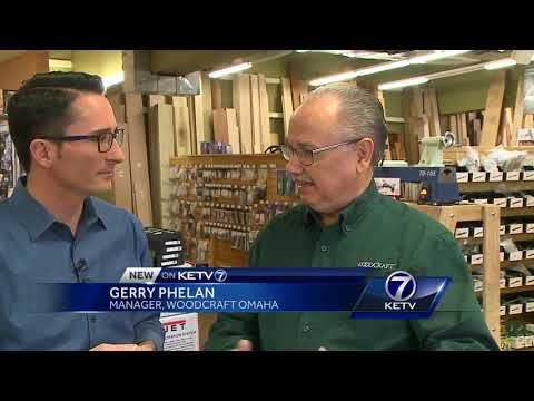 DIY clocks with Woodcraft Omaha