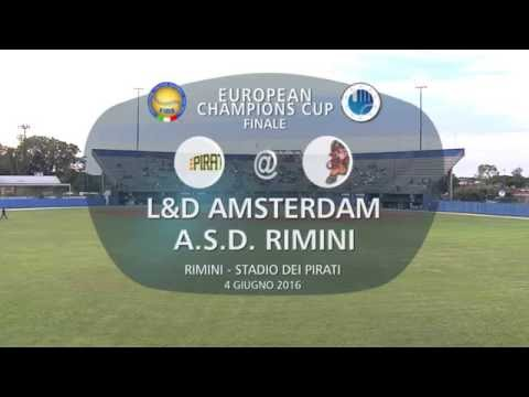 European Club Champions Cup 2016 Final: Amsterdam v Rimini