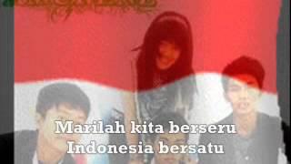 Indonesia Raya - Amurens Band ( VCD KARAOKE Prod.PT.GEMA NADA PERTIWI )