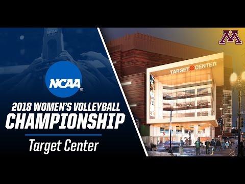 University of Minnesota, Target Center to Host 2018 NCAA Volleyball Championship