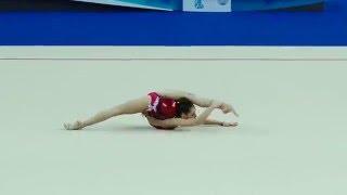 Крамаренко Лала, мяч Первенство России по гимнастике 2016 г. Казань.