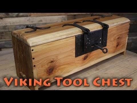 BorntoForge - Making a Viking Tool Chest pt1