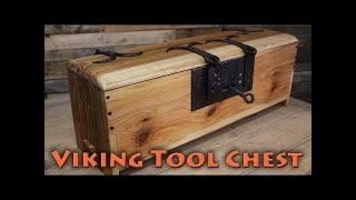 borntoforge making a viking tool chest pt1