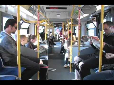 99 B Line Commercial Drive To UBC Time Lapse