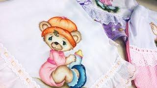 Filó Frigo – Pintura em Fralda Ursinha