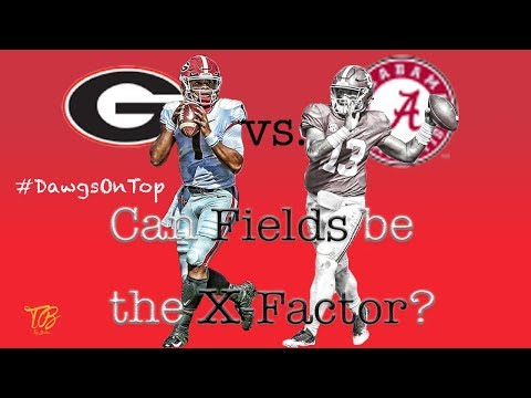 UGA vs. Bama: How QB Justin Fields can pull a Tua!!!