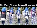 My Emo/Scene Look-Book (2018)
