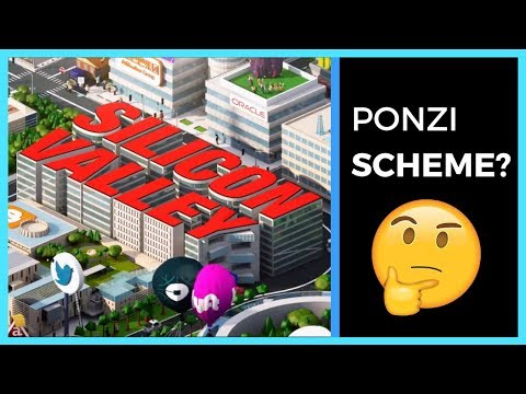 Is Silicon Valley A Giant Ponzi Scheme?