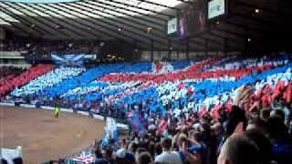 Rangers Vs St Mirren cis cup final RAngers Win With 9 MEN :D