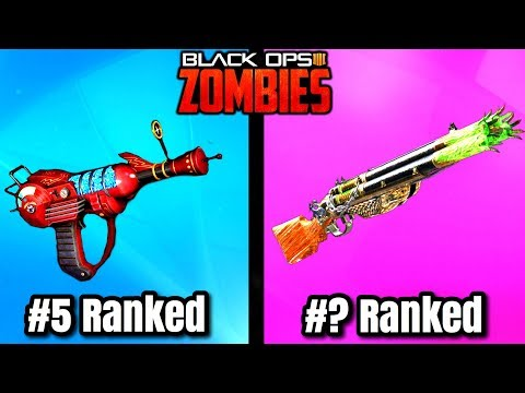 Top 10 BEST PACK A PUNCHED Guns in Black Ops 4 Zombies - Call of Duty Bo4