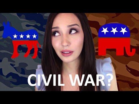 Is America Heading for a Civil War? | Conservatives vs. Liberals, Alt-Right vs. Alt-Left