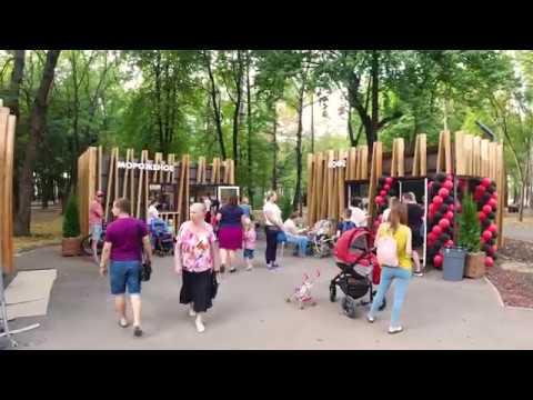 """В Липецке торжественно открыт после реконструкции парк """"Быханов сад"""""""