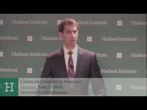 Remarks by Senator Tom Cotton on Crime and Justice in America