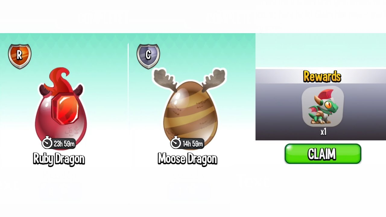 Dragon City Level 85 Gameplay Got Moose And Ruby Dragon Egg And