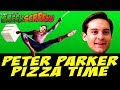 PETER PARKER PIZZA TIME GREEN SCREEN | Feel Free to Use It For Your Memes