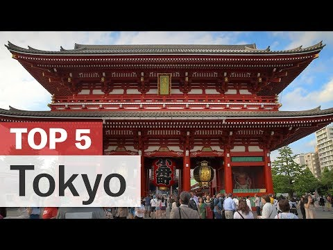 Top 5 Things to do in Tokyo | japan-guide.com