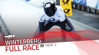 Winterberg | BMW IBSF World Cup 2016/2017 - Men's Skeleton Heat 2 | IBSF Official