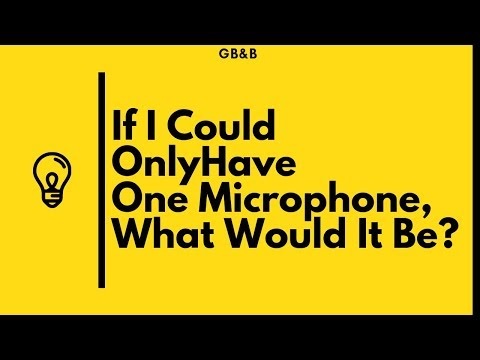 If I Could Only Have One Microphone, What Would It Be?