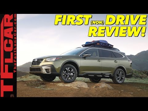 Review: Is the New 2020 Subaru Outback All New or Just a Warmed Over Wagon?