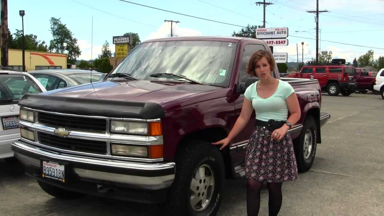 All Chevy 1995 chevy c1500 : Vitural Walk Around Tour of a 1995 Chevy Silverado Stepside at ...