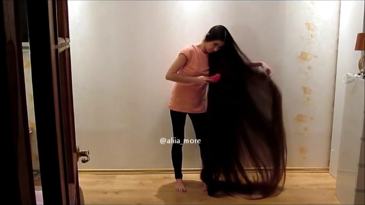 My Longest hair #1 - YouTube