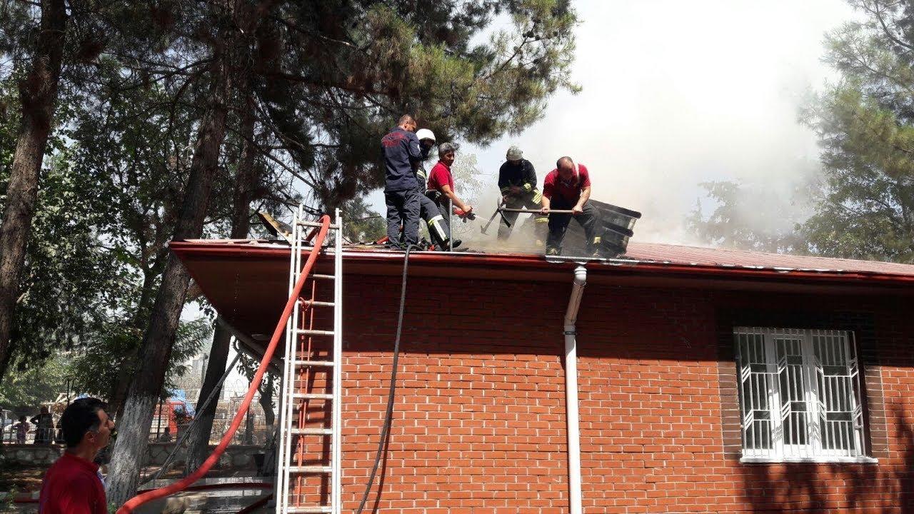 Aile Sağlık Merkezi'nde Çıkan Yangın Korkuttu