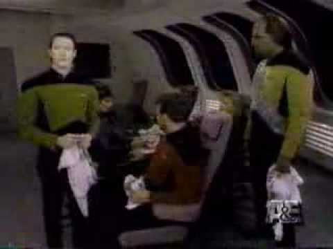 Comic Relief - Star Trek TNG