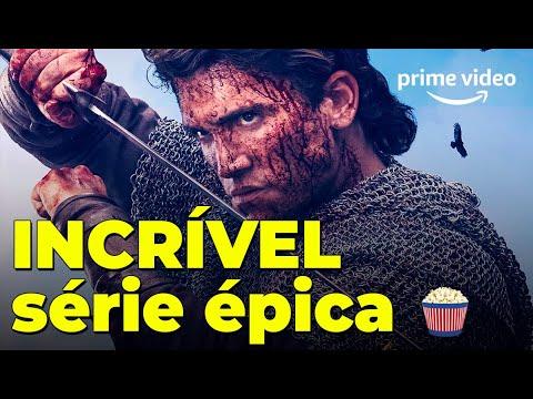Nova e INCRÍVEL série da Amazon no estilo de Vikings com ator de La Casa de Papel
