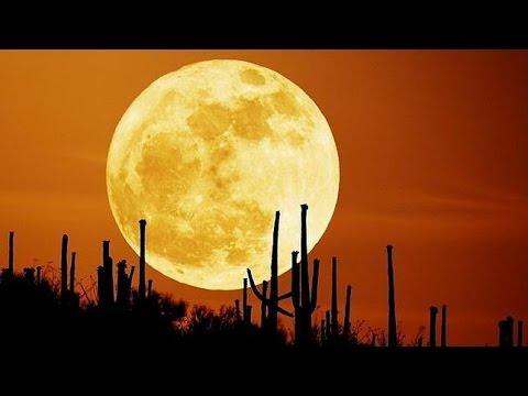 fenómeno celestial:Luna de la cosecha y eclipse penumbral.