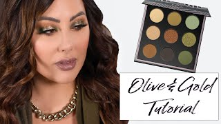 Olive Green Fall Makeup   | Makeup Geek