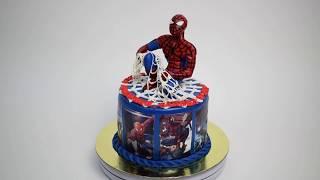 Торт на заказ Спайдермен (Tortlend.ru)