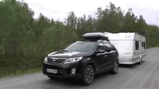 Mit dem Wohnwagen unterwegs in Norwegen 2018 Teil 1