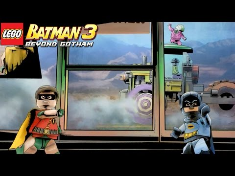 LEGO Batman 3 Beyond Gotham - FASE EXTRA Mesma bat hora! Mesmo bat canal!