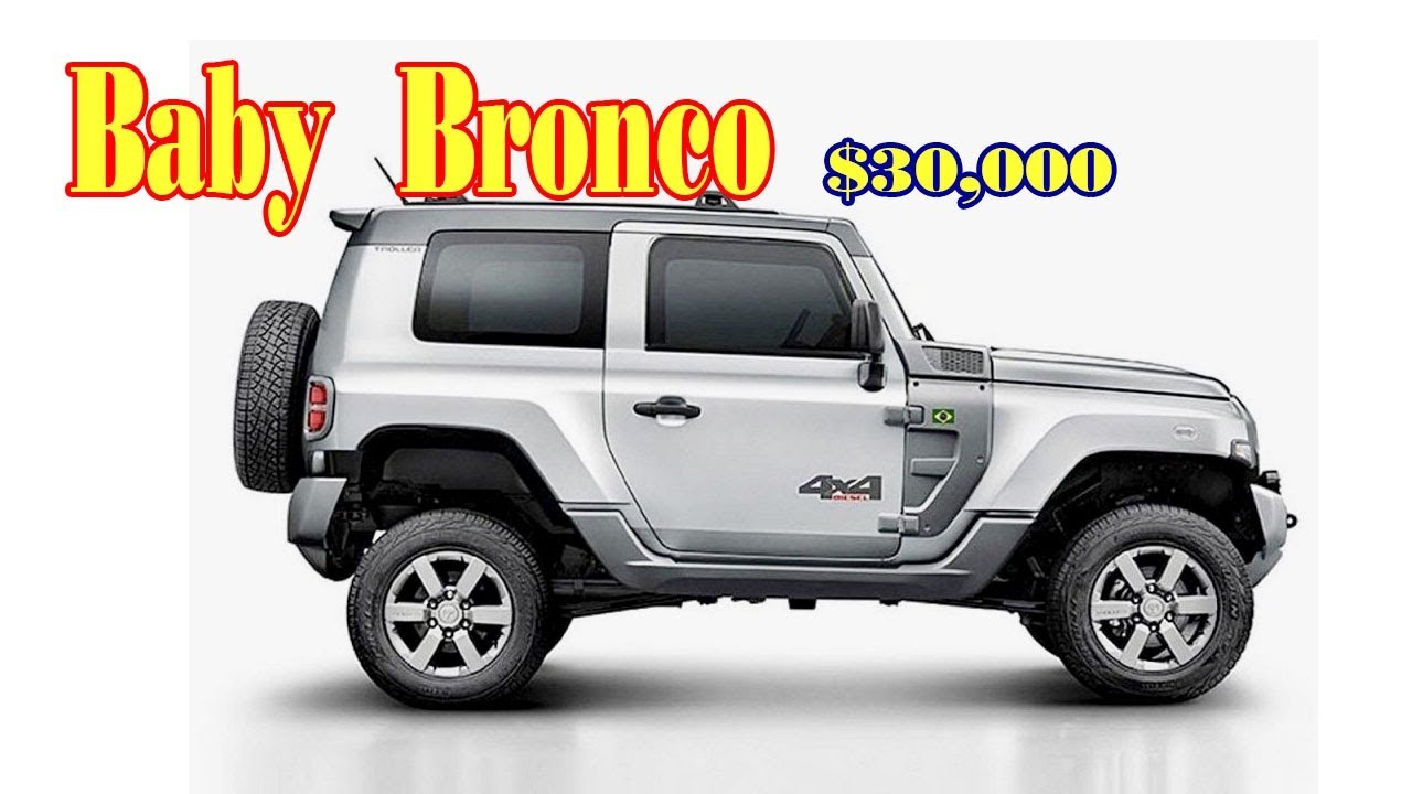 2019 Ford Baby Bronco Baby off-roader - Rendering | Buy new cars - YouTube