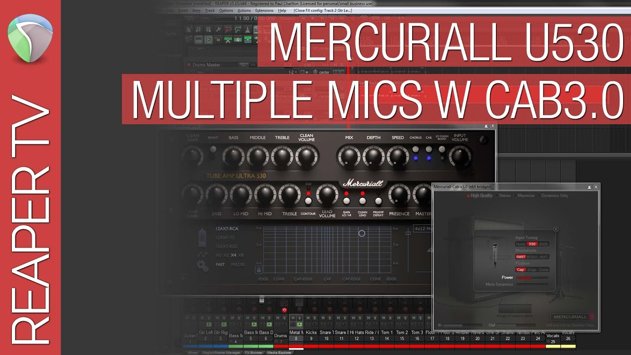mercuriall spark & tube amp u530