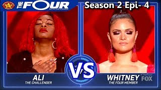 "Whitney Reign vs Ali Caldwell ""If You Don't Know Me By Now"" The Four Season 2 Ep. 4 S2E4"