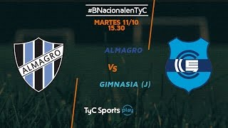 Almagro vs Gimnasia J full match