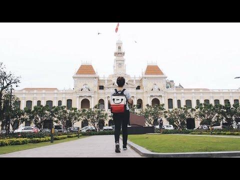 DIY SAIGON WALKING TOUR! Ho Chi Minh Travel Vlog