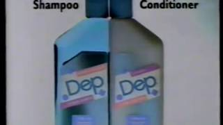 """1989 Dep Gel Shampoo """"Recipe""""TV Commercial. This commercial appeare..."""