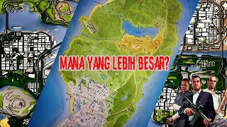 Apakah Map GTA SA Lebih Besar Daripada Map GTA 5?