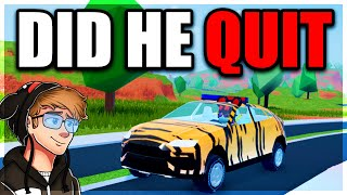 DID KREEKCRAFT QUIT ROBLOX JAILBREAK!? (The Truth)