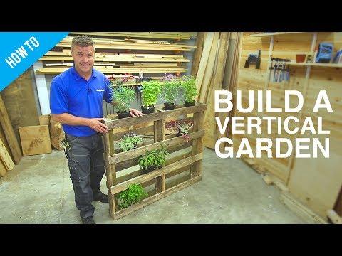 How To Build Diy Vertical Wall Garden