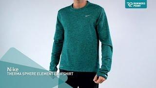 Nike THERMA SPHERE ELEMENT LAUFSHIRT