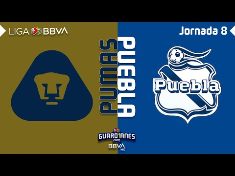 U.N.A.M. Pumas Puebla Goals And Highlights