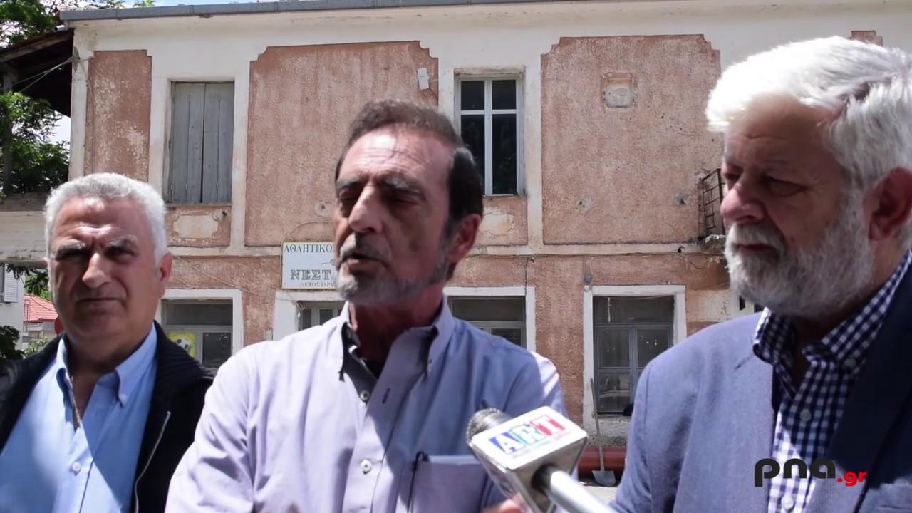 Ένα πολύ σημαντικό έργο πραγματοποιεί η ΔΕΥΑΤ στο χωριό της Νεστάνης