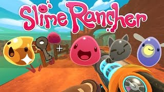 All Gordo + Golden Slime and Slime Key - Slime Rancher