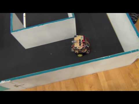 BU2B2 - Trinity College Firefighting Home Robot Content Competition Practice Trail 31